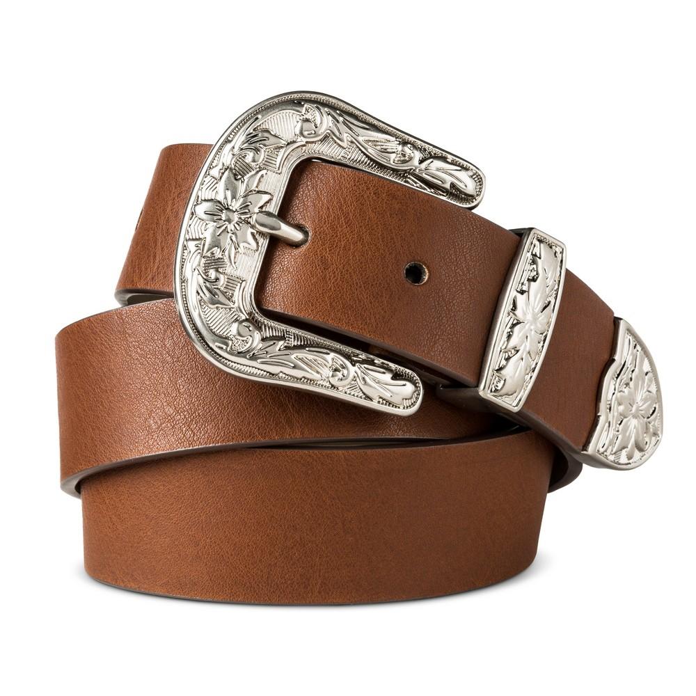 Women's Jean Western Belt - Mossimo Supply Co. Brown S