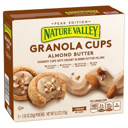 Nature  Valley Granola Cups Almond Butter - 5ct 6.2oz