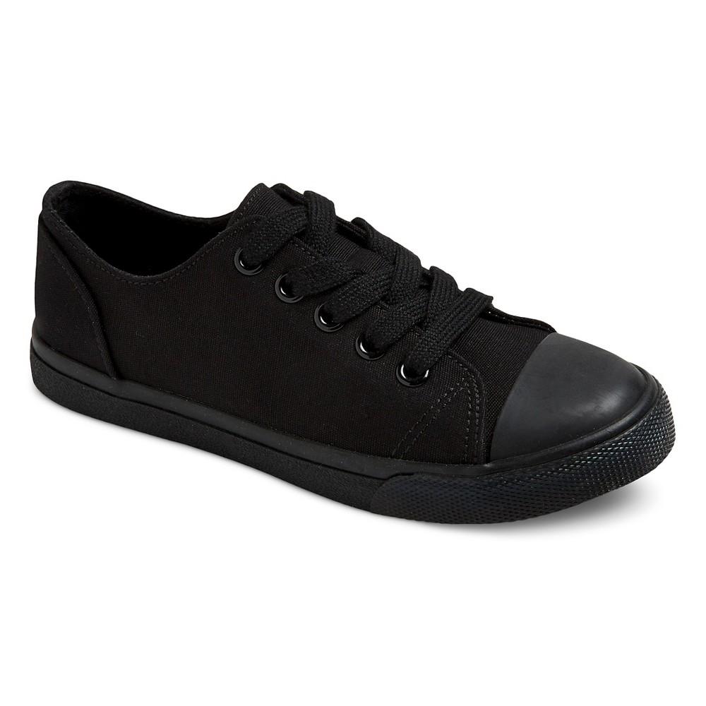 Boys Philip Low-Top Canvas Sneakers Cat & Jack - Black 1