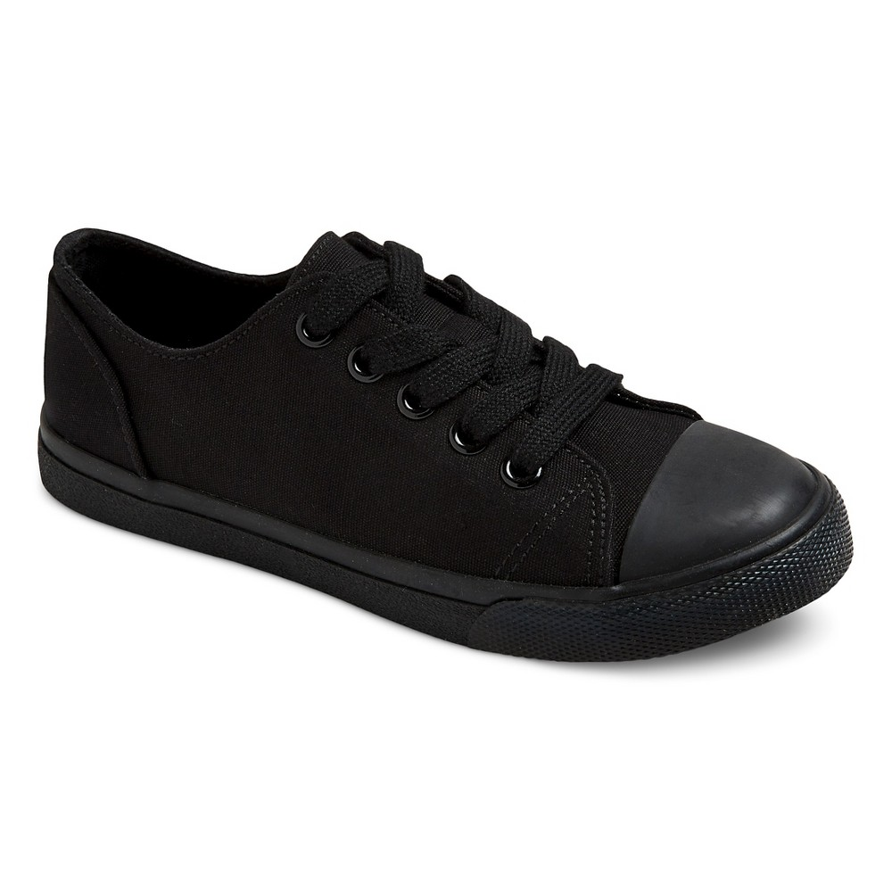Boys Philip Low-Top Canvas Sneakers Cat & Jack - Black 2