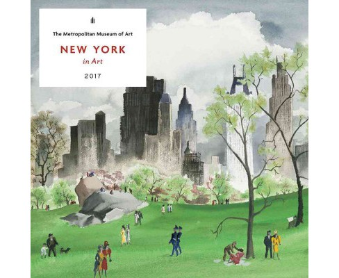 New York in Art 2017 Calendar (Paperback) - image 1 of 1