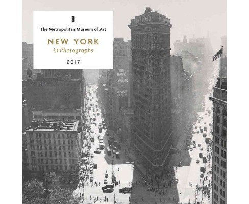 New York in Photographs 2017 Calendar (Paperback) - image 1 of 1