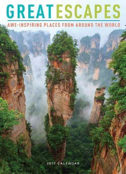 Great Escapes 2017 Calendar : Awe-Inspiring Places from Around the World (Paperback)