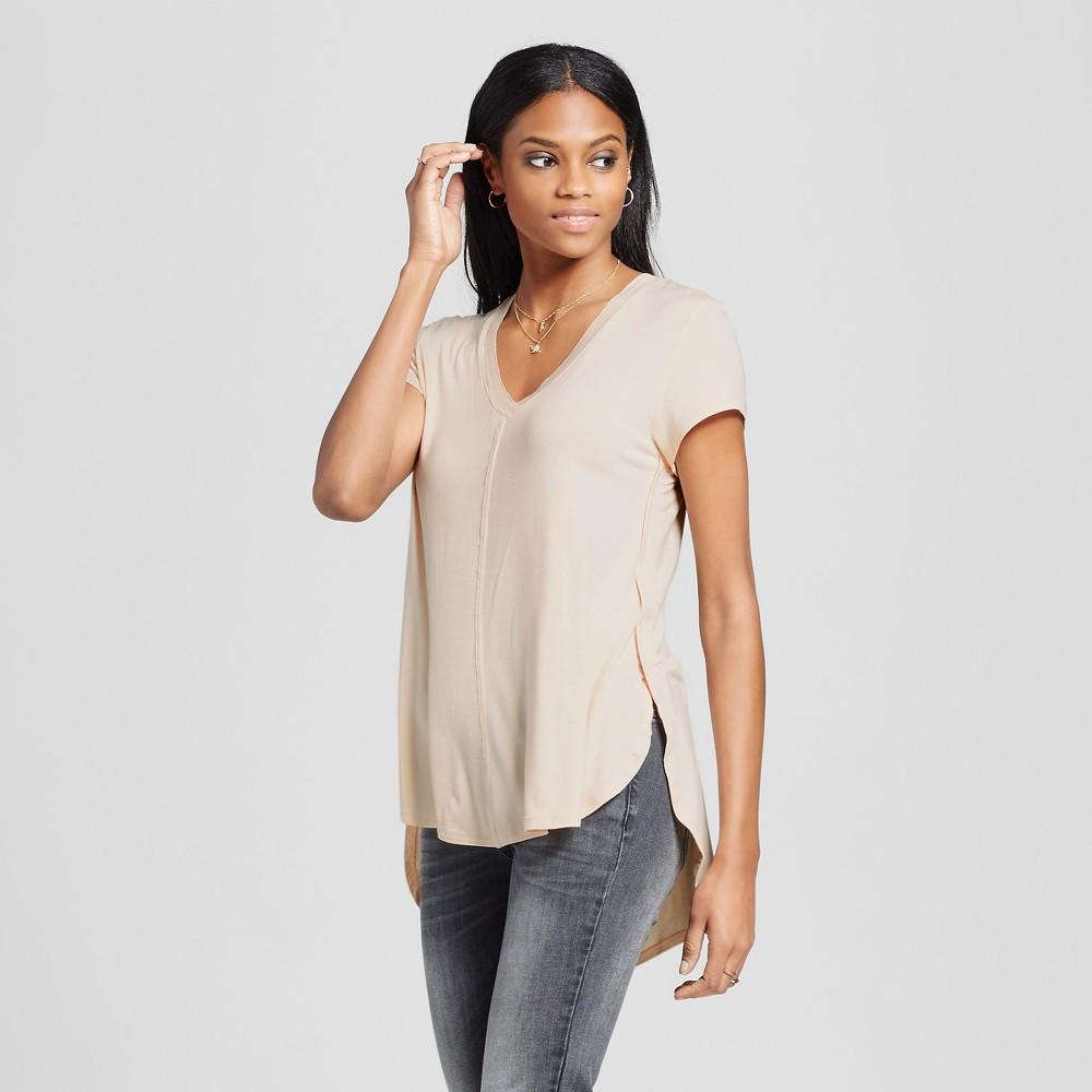 Women's Center Seam T-Shirt - Mossimo Blush S