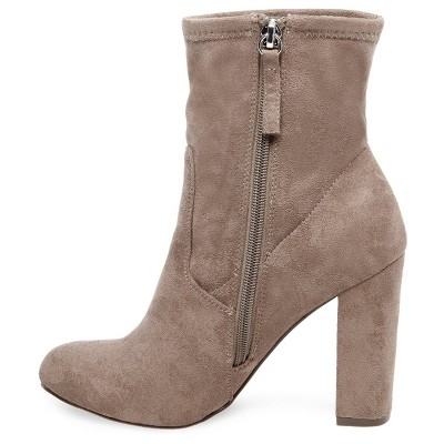 Women's Thelma Sock Booties - Taupe (Brown) 9.5