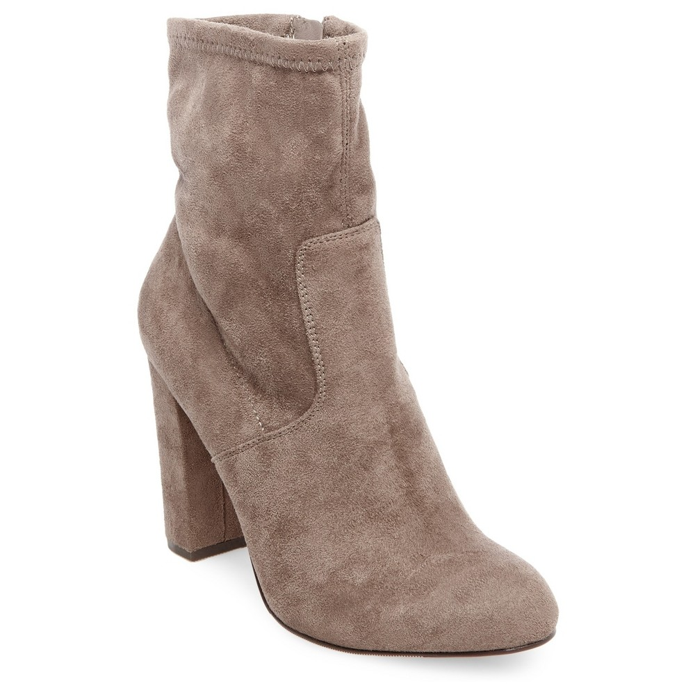 Womens Thelma Sock Booties Mossimo - Taupe (Brown) 10