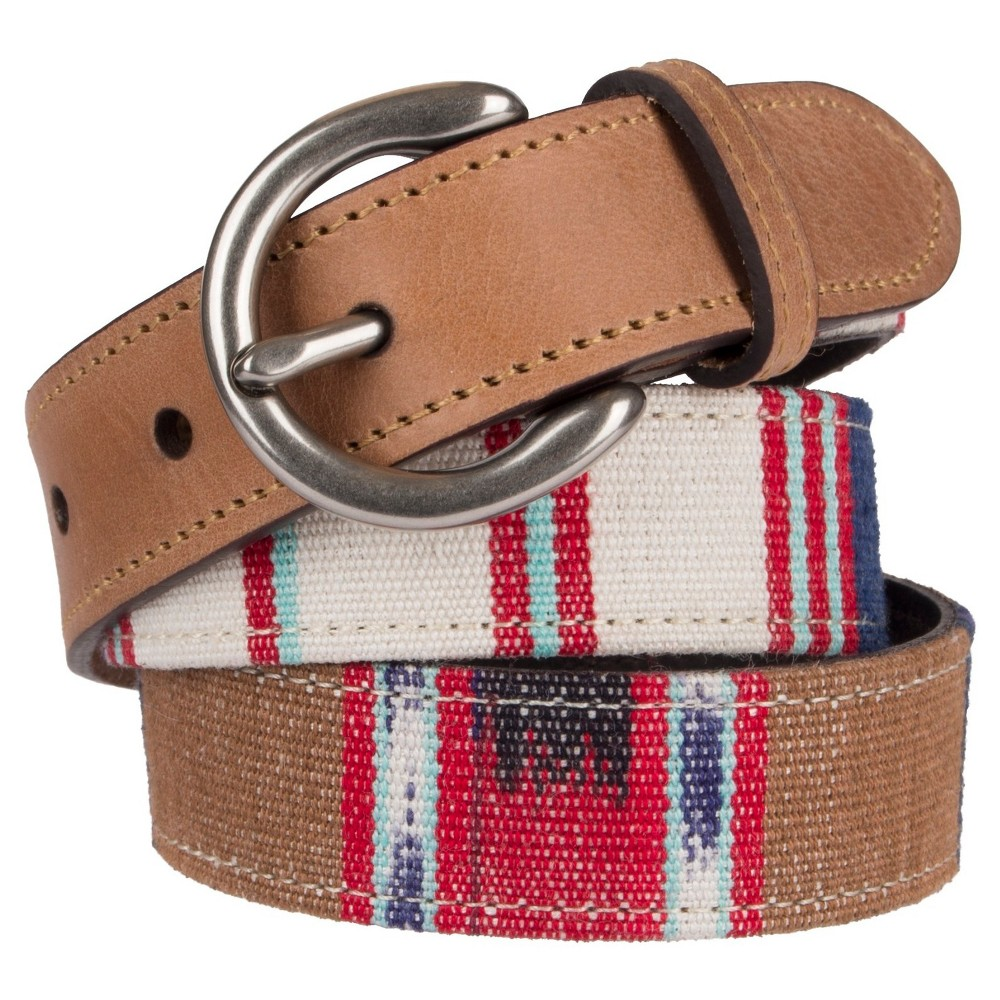 Womens Guatemala Fabric Belt - Mossimo Supply Co. XL, Multicolored