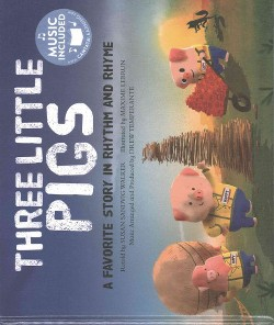 Three Little Pigs : A Favorite Story in Rhythm and Rhyme (Library) (Susan Sandvig Walker)