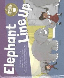 Elephants Line Up (Library) (Jonathan Peale)