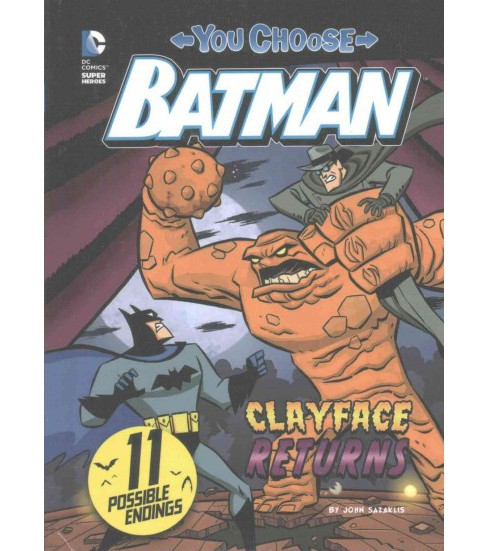 Clayface Returns (Library) (John Sazaklis) - image 1 of 1