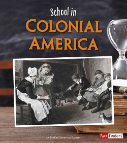School in Colonial America (Library) (Shelley Swanson Sateren)