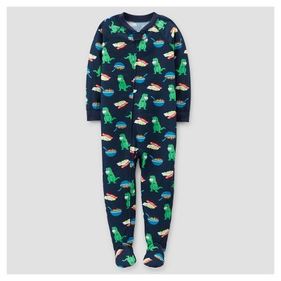 Baby Boys' Dinosaurs Footed Pajama - Just One You™ Made by Carter's® Navy 9M