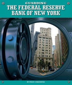 Guarding the Federal Reserve Bank of New York (Library) (Peggy Caravantes)