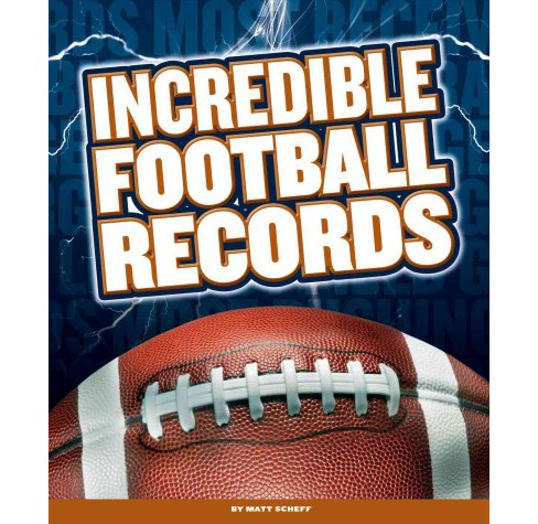 Incredible Football Records (Library) (Matt Scheff) - image 1 of 1