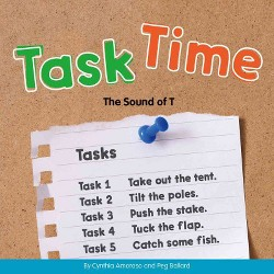 Task Time : The Sound of T (Library) (Cynthia Amoroso)
