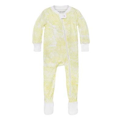 Burt's Bees Baby® Girls' Organic Honeycomb Sleeper - Yellow 3-6M