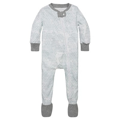 Burt's Bees Baby® Boys' Organic Honeycomb Sleeper - Blue 3-6M