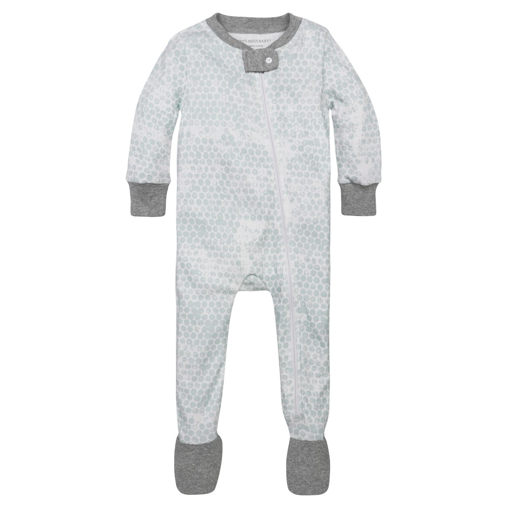 Burt's Bees Baby Boys' Organic Honeycomb Sleeper – Blue 3-6M, Infant Boy's, Size: 3-6 M