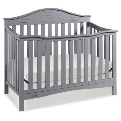 Graco Catalina 4-in-1 Convertible Crib - Pebble Gray