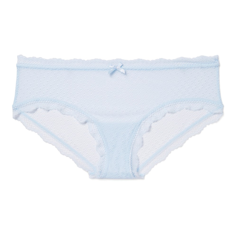Womens Mesh Hipster Airy Blue XS