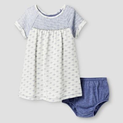 Baby Girls' A Line Dress Cat & Jack™ - Blue Iris 12 M
