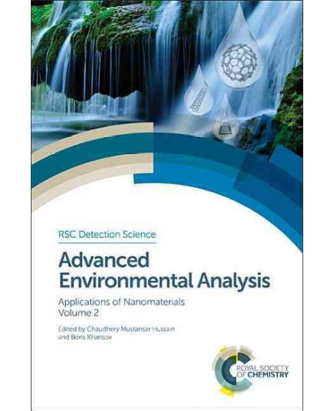 Advanced Environmental Analysis : Applications of Nanomaterials (Vol 2) (Hardcover) - image 1 of 1