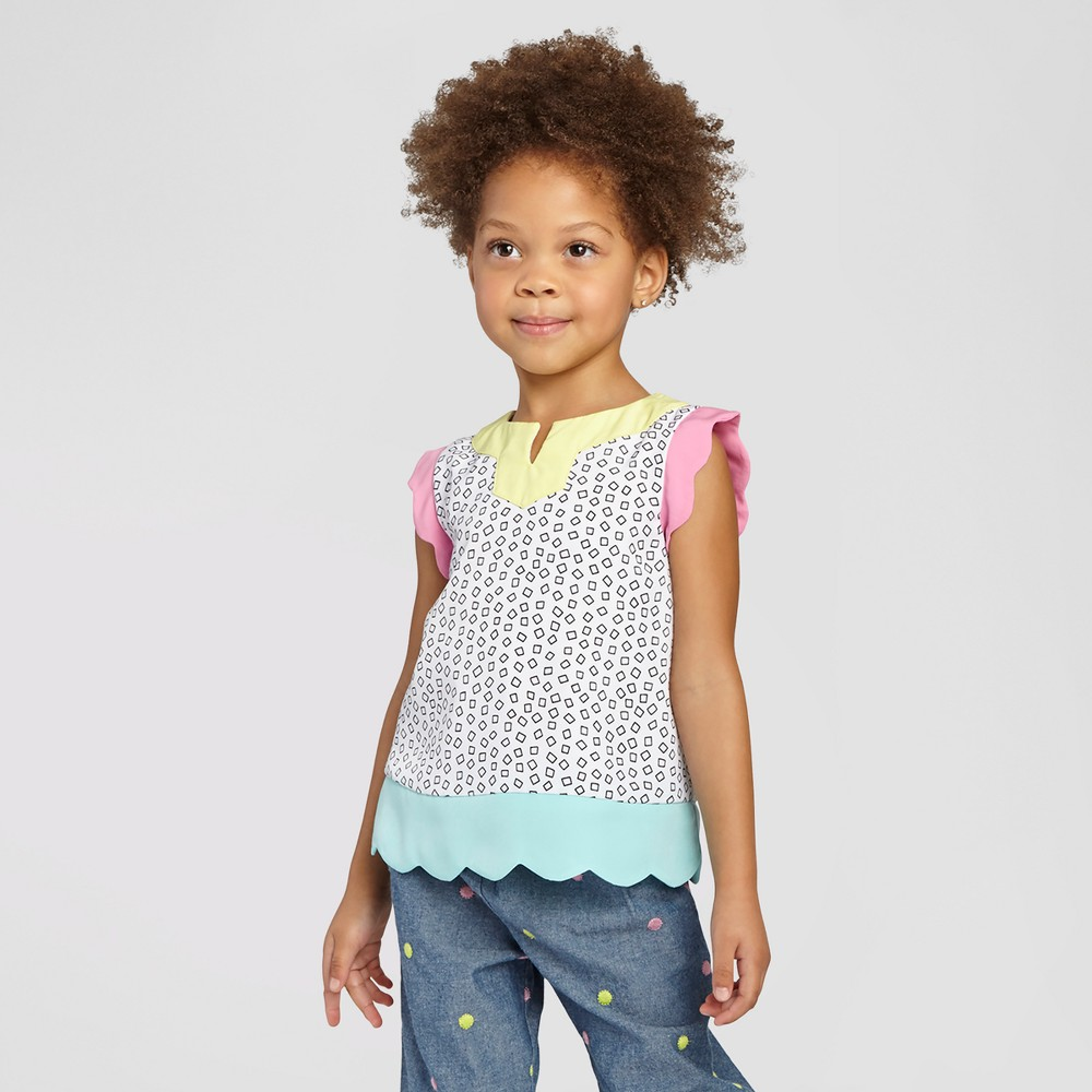 Toddler Girls' Tank Top Genuine Kids- White, Toddler Girl's, Size: 2T