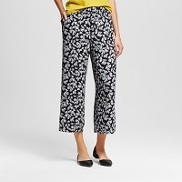 Women's Merona Printed Wide Leg Pants - Merona. opens in a new tab.