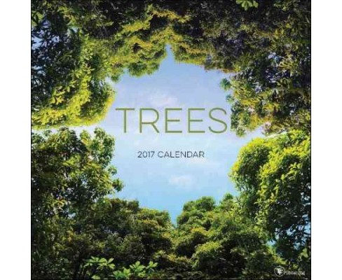 Trees 2017 Calendar (Paperback) - image 1 of 1