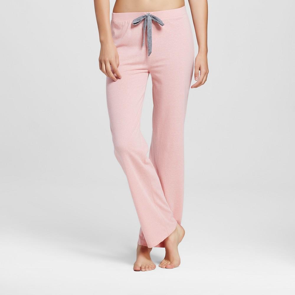 WallFlower Womens Super Soft Pajama Pants - Rose Heather XL, Pink