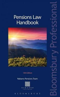 Pensions Law Handbook (Paperback) (Nabarro)