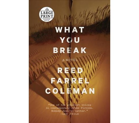 What You Break (Paperback) (Reed Farrel Coleman) - image 1 of 1