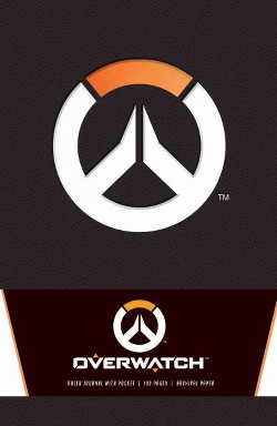 Overwatch Hardcover Ruled Journal
