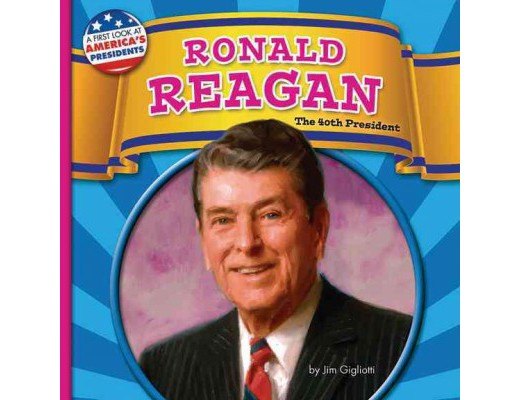 Ronald Reagan 40th President United States, Life and Times, Cold War, 8 book lot