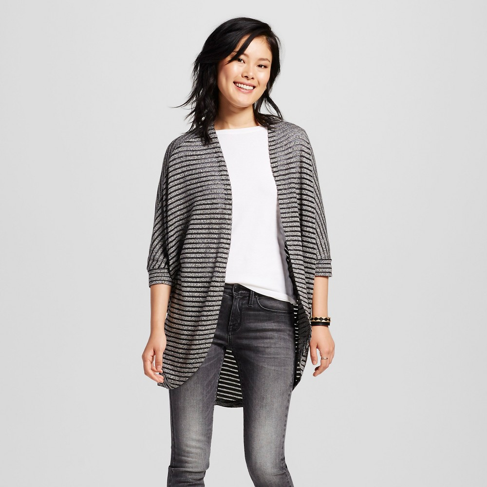 Women's Hachi Cocoon Cardigan Solid Black/Silver XL – Mossimo Supply Co.