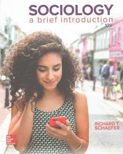 Sociology : A Brief Introduction (Paperback) (Richard T. Schaefer)