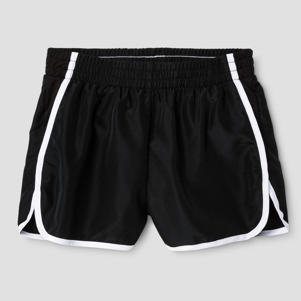 Girls Run Shorts - C9 Champion Black S