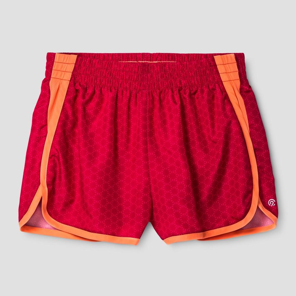 Girls Run Shorts - C9 Champion Red L