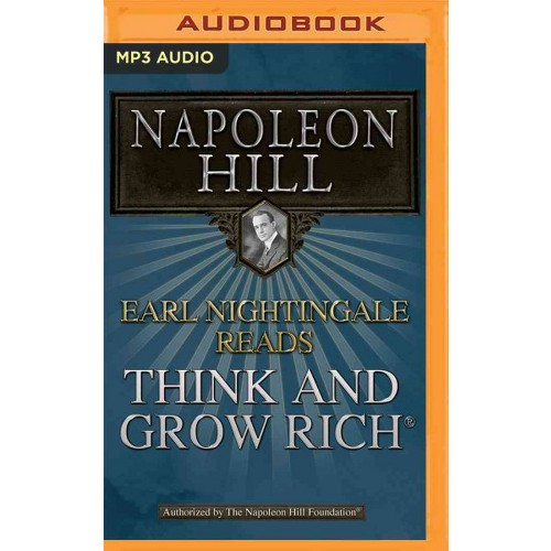 Earl Nightingale Reads Think and Grow Rich (MP3-CD) (Napoleon Hill)