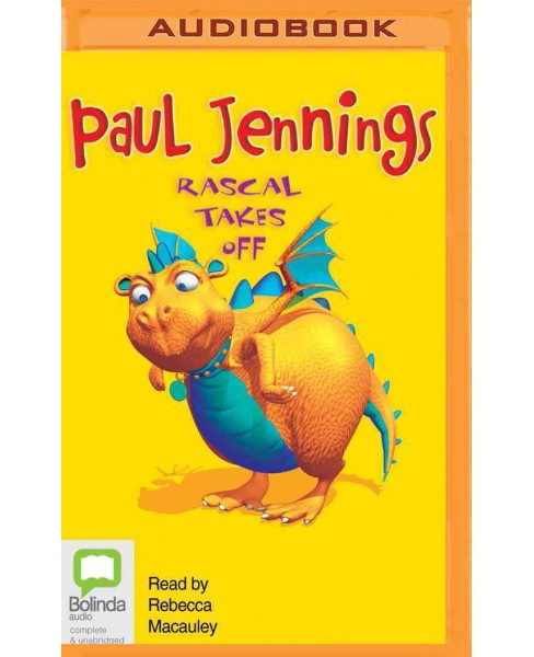Rascal Takes Off (MP3-CD) (Paul Jennings) - image 1 of 1
