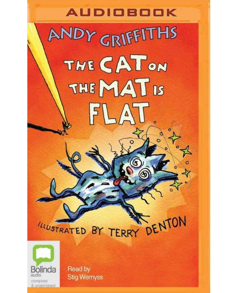 Cat on the Mat Is Flat (MP3-CD) (Andy Griffiths) - image 1 of 1