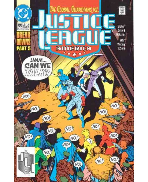 Justice League : Breakdowns (Paperback) (Keith Giffen) - image 1 of 1