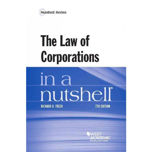 Law of Corporations in a Nutshell (Paperback) (Richard Freer)