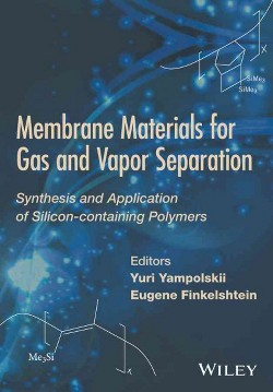 Membrane Materials for Gas and Separation : Synthesis and Application Fo Silicon-containing Polymers