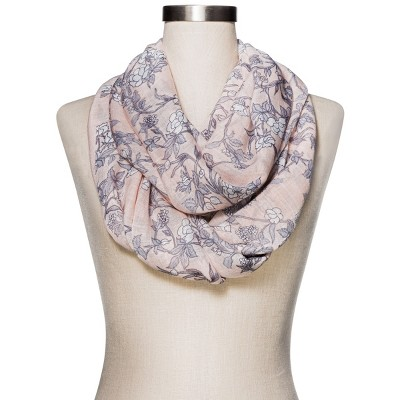 Women's Fashion Floral Scarf - Merona™ Pink