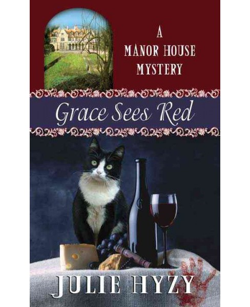 Grace Sees Red (Library) (Julie Hyzy) - image 1 of 1