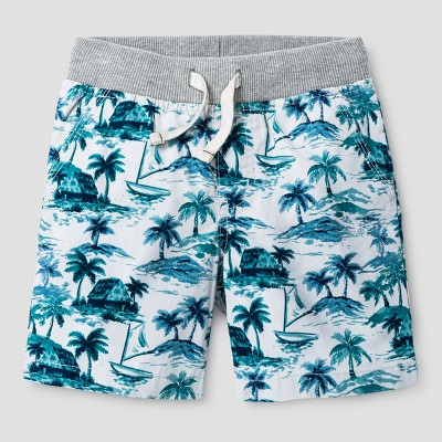 Baby Boys' Pull-on Shorts Cat & Jack™ Gray Birch 18 M