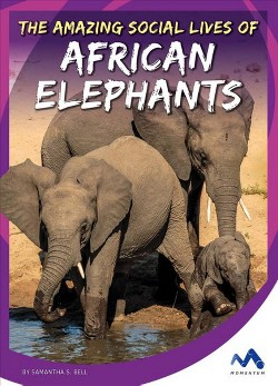 Amazing Social Lives of African Elephants (Library) (Samantha S. Bell)