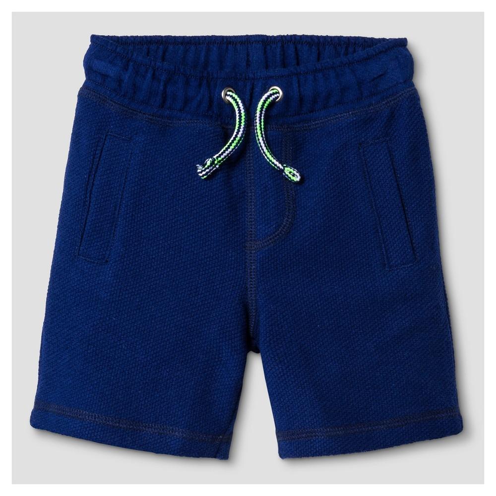Baby Boys Knit Fashion Shorts - Cat & Jack Oxygen Blue 18M, Size: 18 M