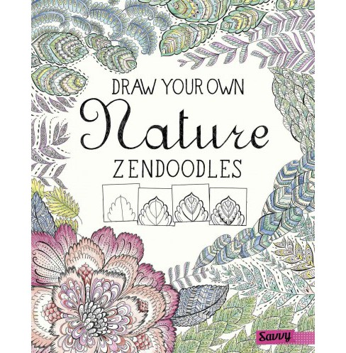 Draw Your Own Nature Zendoodles (Library) (Abby Huff) - image 1 of 1